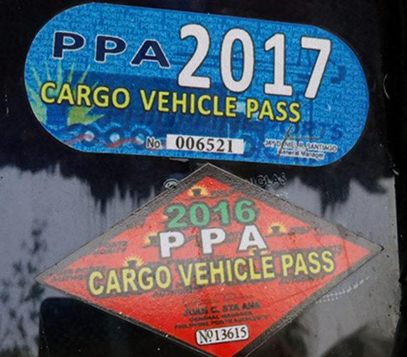 5000.- Pesos Park- bzw. Abholgebühr Siquijor Pier